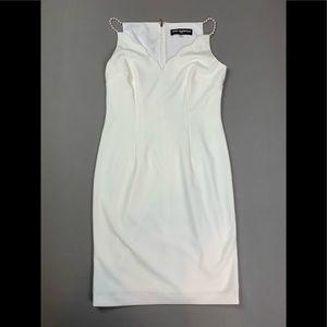 KARL LAGERFELD PARIS white dress
